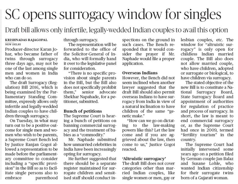Hindu-2 Surrogacy